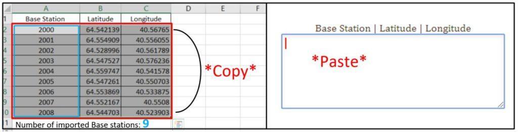 Base Station Copy-Paste
